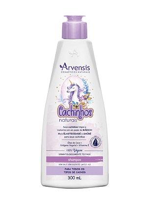 Shampoo Cachinhos Naturais (sem sulfato) - 300ml