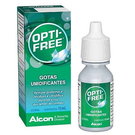 Opti-Free gotas umidificantes