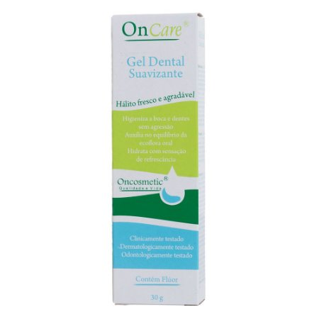 Gel dental suavizante - boca sensível 30gr