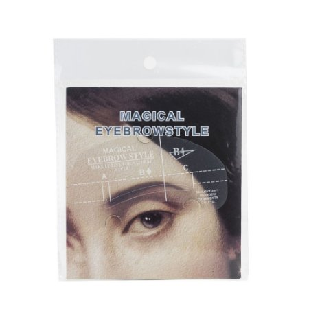 Molde para sobrancelhas - 4 tipos diferentes