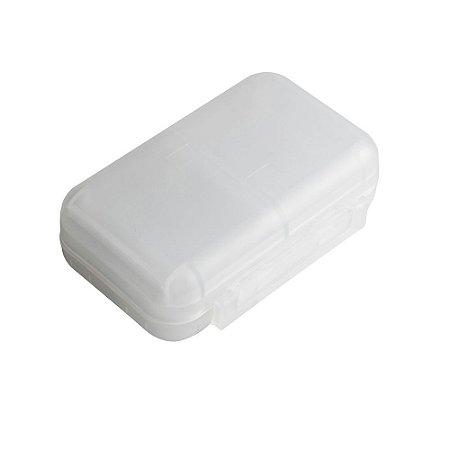 Porta comprimido - maleta
