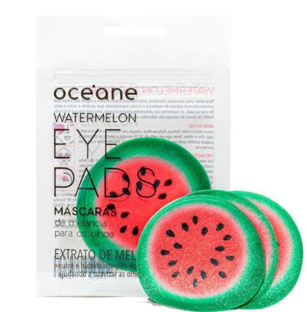 Máscara de melancia para olhos - watermelon eye pads