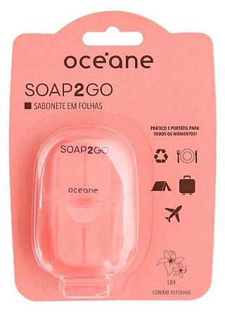 Sabonete em Folha Océane - Soap2Go Lírio