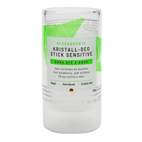 Desodorante Vegano - Stick Kristall Sensitive 120g - Alva