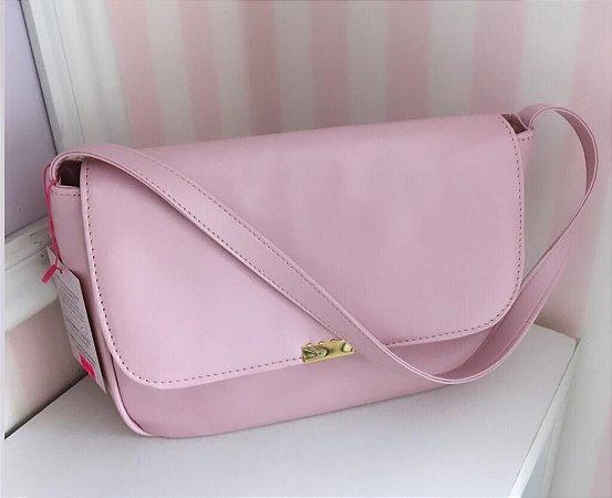 Bolsa Anastáca G (Rosa Algodão Doce)