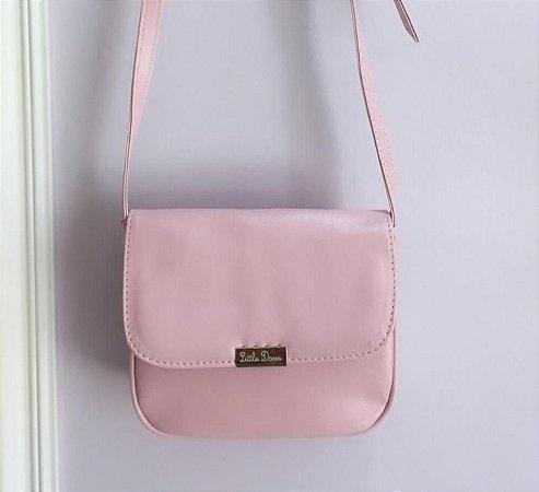 Bolsa Anastácia M (Rosa Algodão Doce)