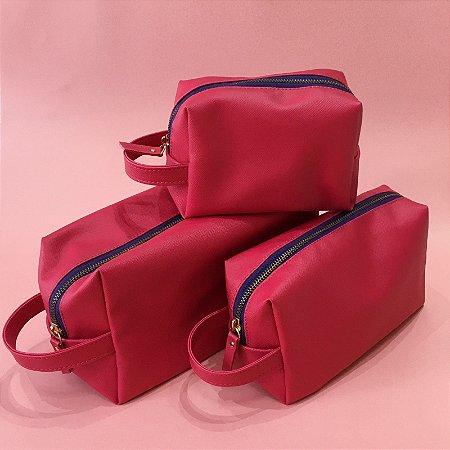 Trio de Necessaires (Pink)