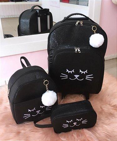 Kit escolar Gato
