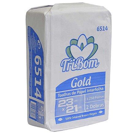 Papel Toalha Tribom Gold Virgem 23x21