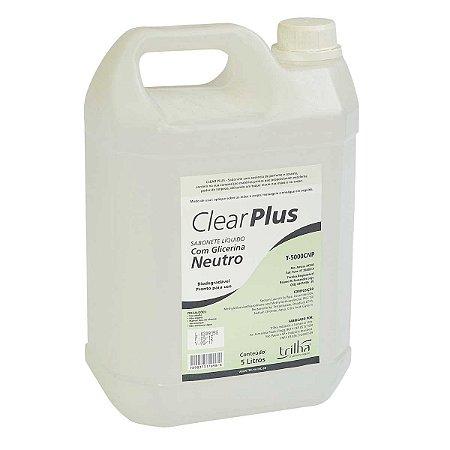 Sabonete Cremoso Neutro ClearPlus 5l
