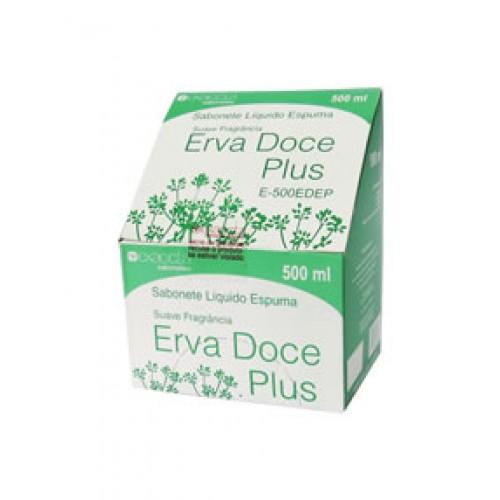 Sabonete Espuma Erva Doce Plus 500ml