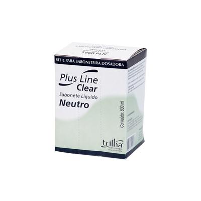 Sabonete Cremoso Neutro ClearPlus 800ml Refil