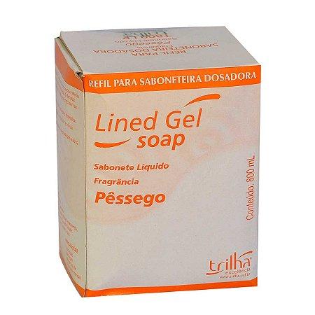 Sabonete Líquido Cremoso Pêssego Perolado Refil 800ml