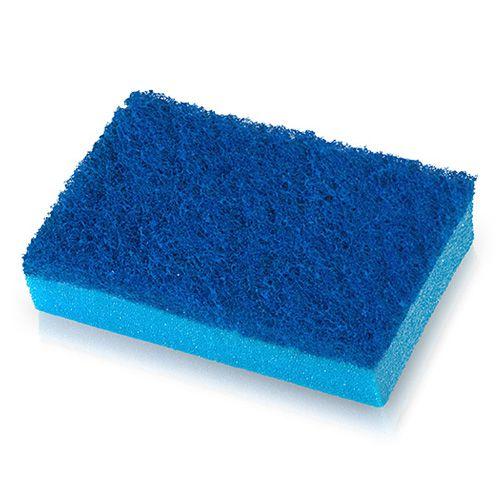Esponja Dupla Face Azul Suave Bettanin