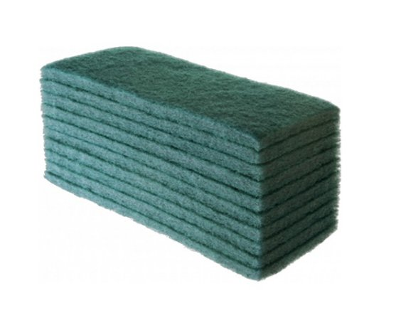 Fibra De Limpeza Geral Verde 102x260mm