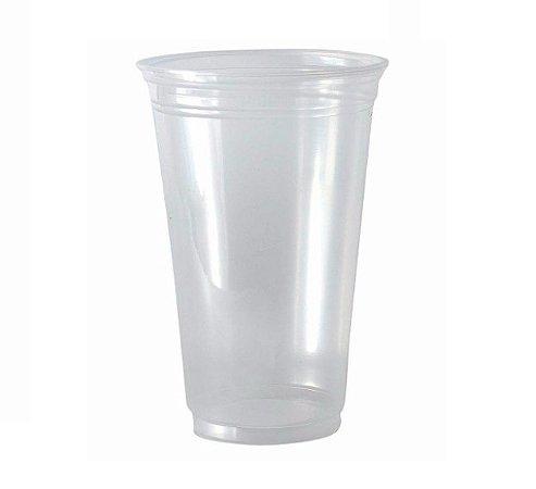 Copo Plástico 770 Ml Transparente Copobras Pp Pct 20