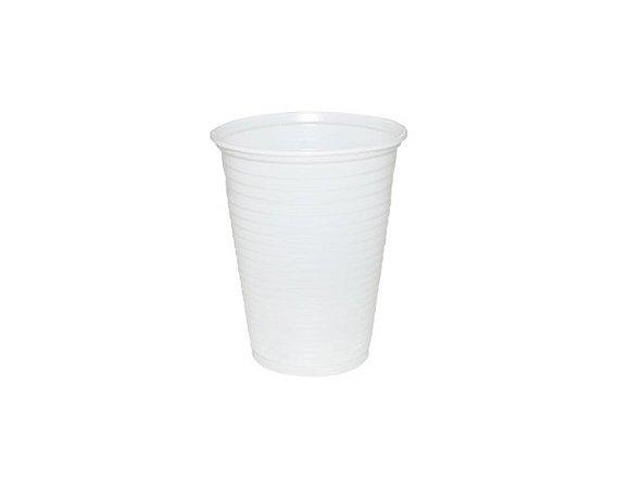 Copo Plástico 80 Ml Branco Cristalcopo Ps Pct 100
