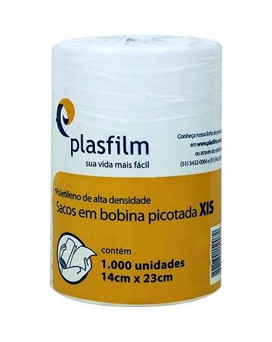 Bobina Plástica De Xis 14X24Cm