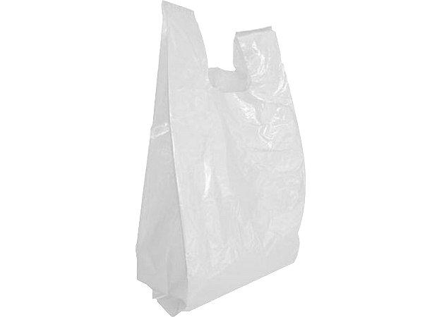 Sacola Biodegradável Branca 40x50