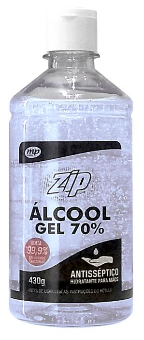 Zip Clean Álcool Gel 70%