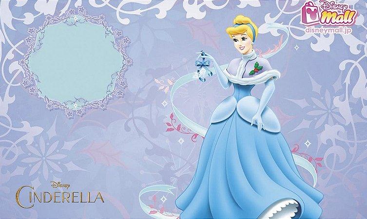 Painel de Festa Infantil Personalizado em Tecido Tema Cinderela 6