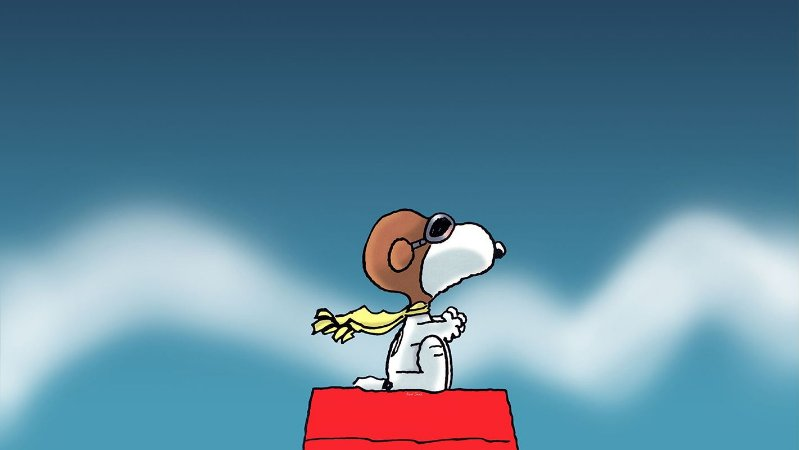 Painel de Festa Infantil Personalizado em Tecido Tema Snoopy 2