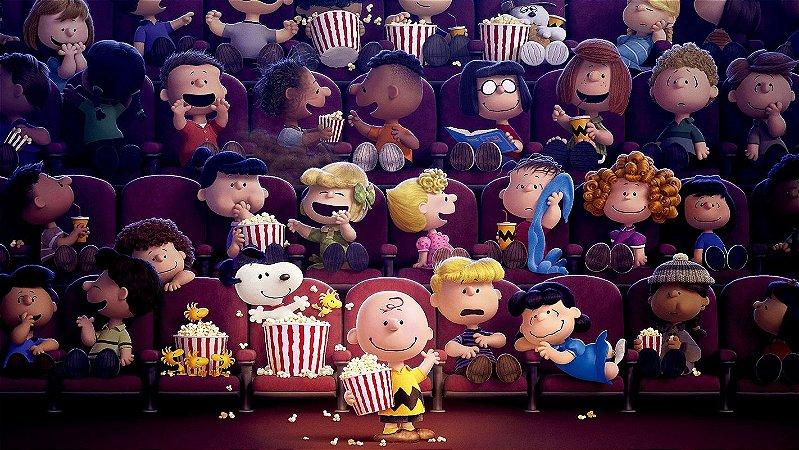 Painel de Festa Infantil Personalizado em Tecido Tema Snoopy 9
