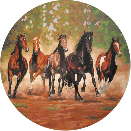 Capa Personalizada para Estepe Ecosport Crossfox Cavalos