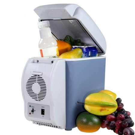 Mini Geladeira Portátil 12v Automotiva 7,5l Esquenta e Resfria