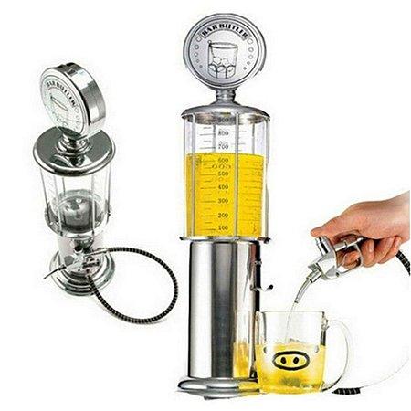 Dispenser Torre Bebidas Whisky Pinga Retrô Bomba Gasolina Antiga