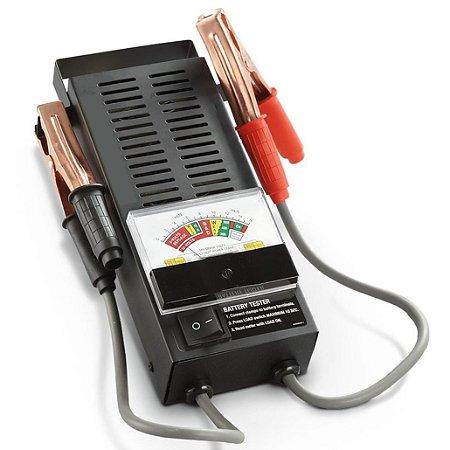 Analisador Teste de Bateria e Alternador Voltímetro 6V a 12V