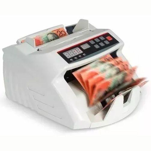 Máquina de Contar Dinheiro Cédulas Detecta Nota Falsa