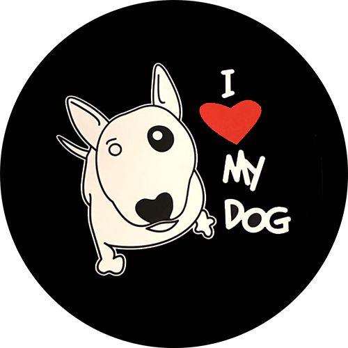 Capa Personalizada para Estepe Ecosport Crossfox I Love My Dog