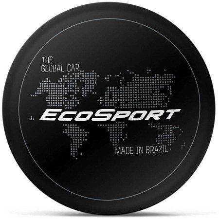 Capa para estepe Ecosport Crossfox + Cabo + Cadeado Mapa