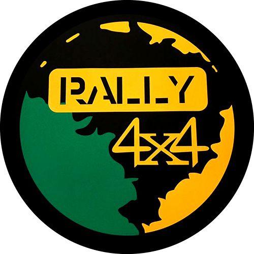 Capa para estepe Ecosport Crossfox + Cabo + Cadeado Rally 4x4