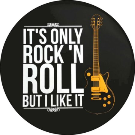 Capa para estepe Ecosport Crossfox + Cabo + Cadeado Rock N' Roll