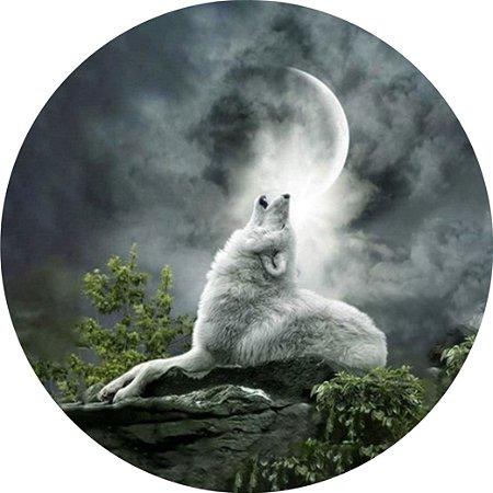 Capa Personalizada para Estepe Ecosport Crossfox Lobo ao Luar