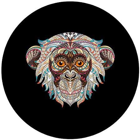 Capa para estepe Ecosport Crossfox + Cabo + Cadeado Macaco Tribal