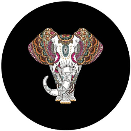 Capa Personalizada para Estepe Ecosport Crossfox Aircross Elefante Tribal