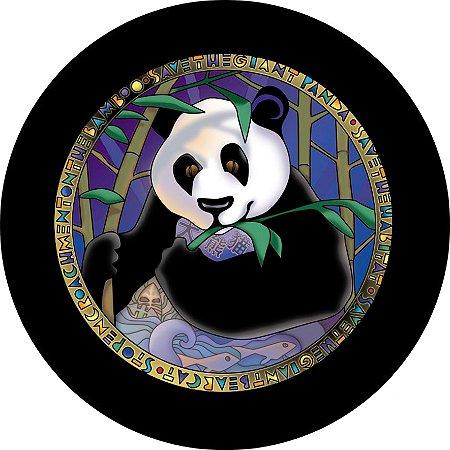 Capa para estepe Ecosport Crossfox + Cabo + Cadeado Panda