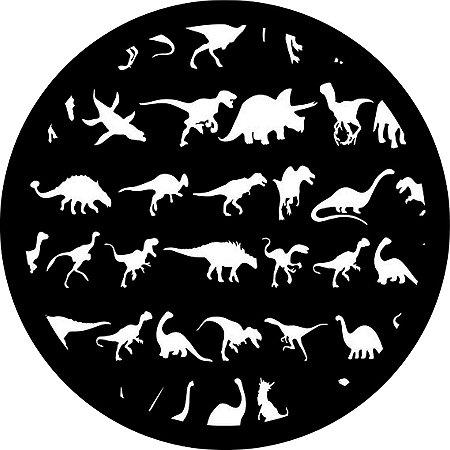 Capa para estepe Ecosport Crossfox + Cabo + Cadeado Dinossauros 2