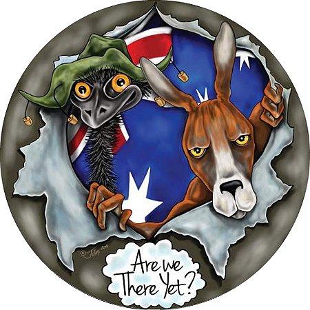 Capa Personalizada para Estepe Ecosport Crossfox Estampa Austrália