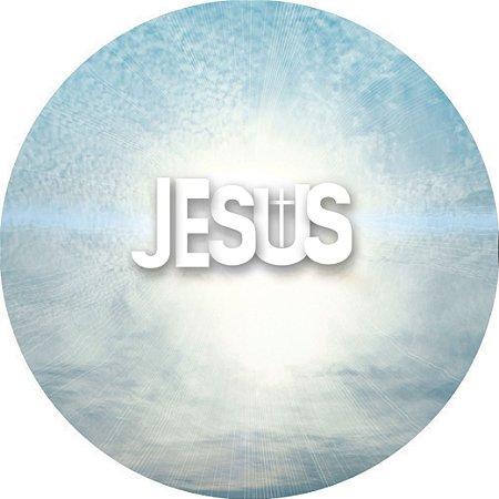 Capa Personalizada para estepe Ecosport Crossfox + Cabo + Cadeado Religioso Jesus