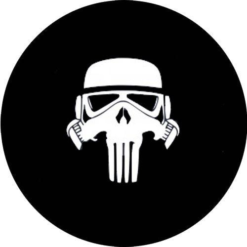 Capa para estepe Ecosport Crossfox + Cabo + Cadeado Stormtrooper