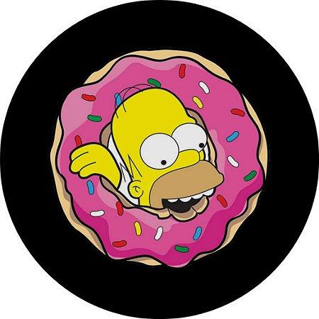 Capa Personalizada para Estepe Ecosport Crossfox Homer Simpson