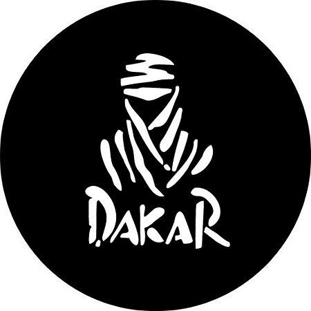 Capa Personalizada para Estepe Ecosport Crossfox Aircross Estampa Dakar