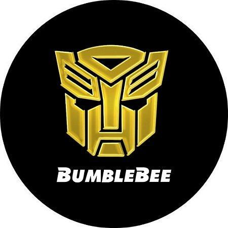 Capa para estepe Ecosport Crossfox + Cabo + Cadeado Bumblebee