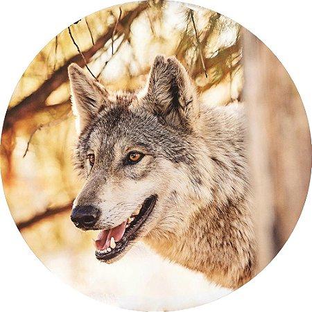 Capa para estepe Ecosport Crossfox + Cabo + Cadeado Lobo Selvagem