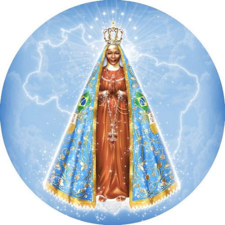 Capa Personalizada para Estepe Ecosport Crossfox Religioso Nossa Senhora Aparecida