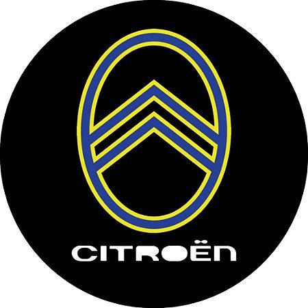 Capa para estepe Ecosport Crossfox + Cabo + Cadeado Logo Citroën 3